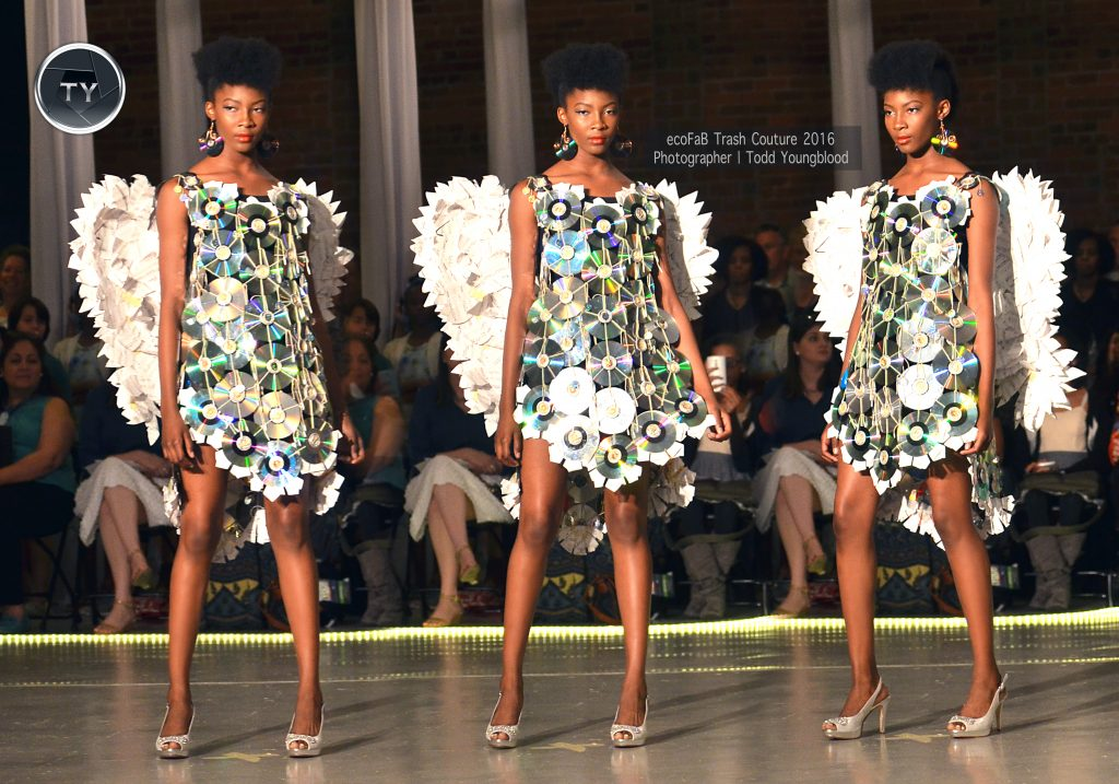trash couture dress