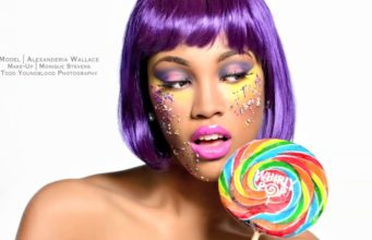 Candy Themed Make Up Look Shoot Concept